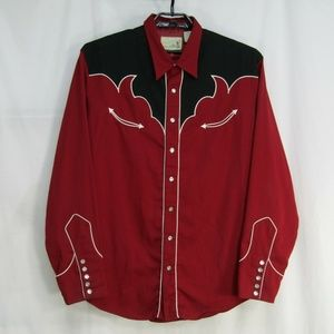 Roper Colorado Pearl Snap Rockabilly Shirt